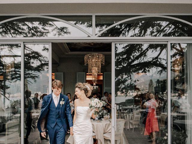 Il matrimonio di Abra e Nik a Malgrate, Lecco 97