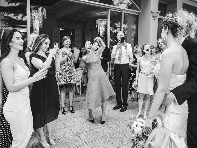 Il matrimonio di Abra e Nik a Malgrate, Lecco 100