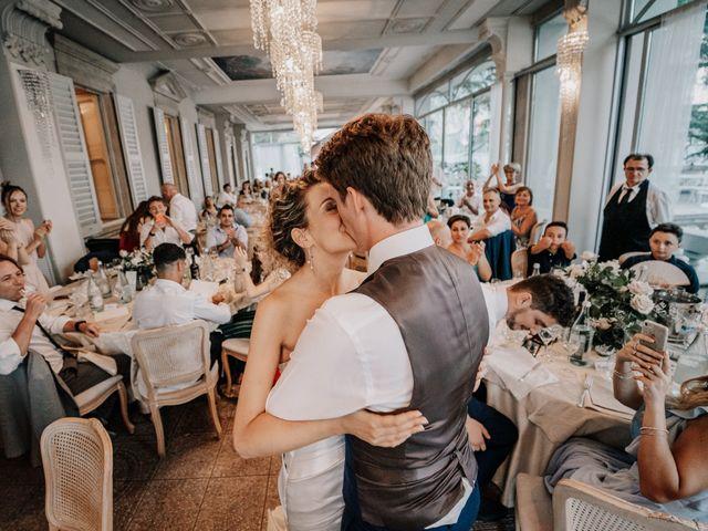 Il matrimonio di Abra e Nik a Malgrate, Lecco 109