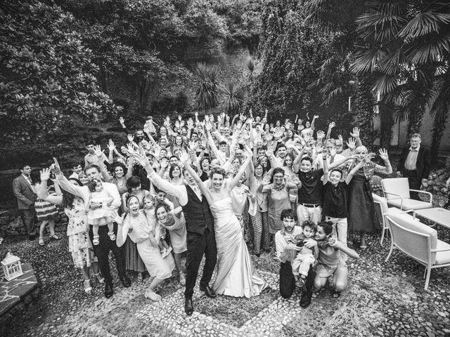 Il matrimonio di Abra e Nik a Malgrate, Lecco 111