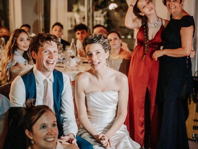 Il matrimonio di Abra e Nik a Malgrate, Lecco 114