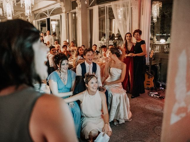 Il matrimonio di Abra e Nik a Malgrate, Lecco 115