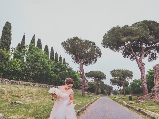 Il matrimonio di Stefano e Caterina a Roma, Roma 2