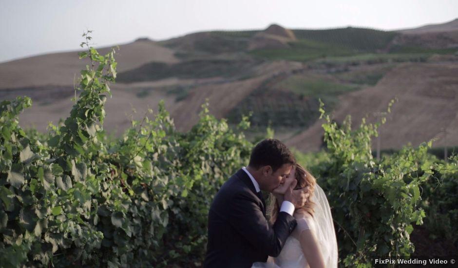 Il matrimonio di Cesare e Nicoletta a Camporeale, Palermo