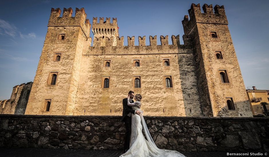 Il matrimonio di Alberto e Tania a Sirmione, Brescia