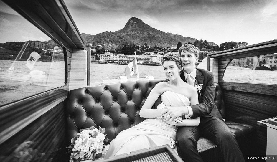 Il matrimonio di Abra e Nik a Malgrate, Como