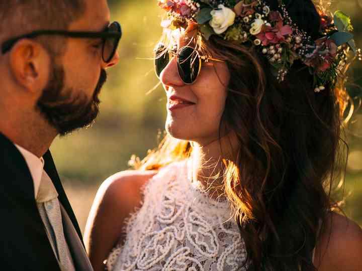 le nozze di Cecilia e Samuele