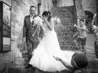 Le nozze di Romina e Massimiliano