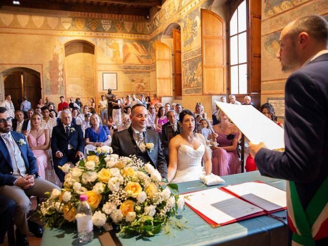 Il matrimonio di Massimiliano e Romina a San Gimignano, Siena 12