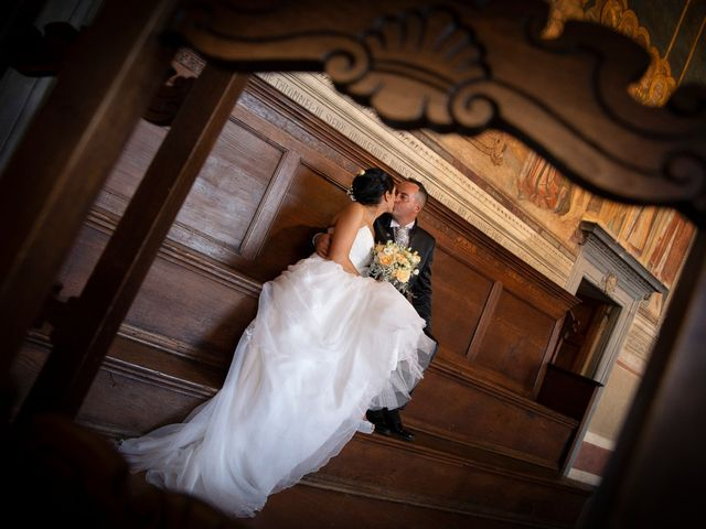 Il matrimonio di Massimiliano e Romina a San Gimignano, Siena 13