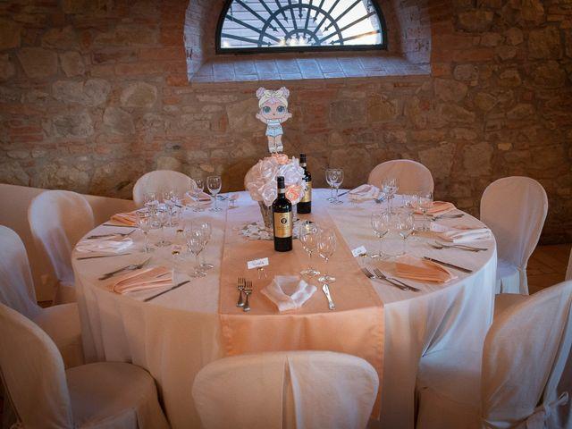 Il matrimonio di Massimiliano e Romina a San Gimignano, Siena 19