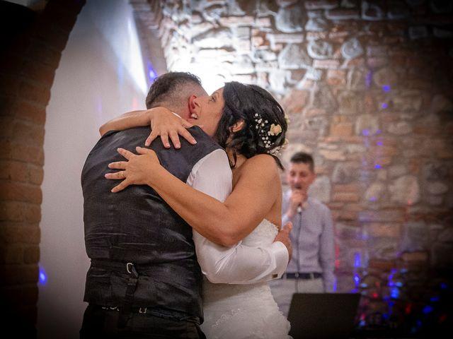 Il matrimonio di Massimiliano e Romina a San Gimignano, Siena 23