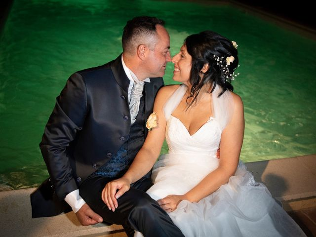 Il matrimonio di Massimiliano e Romina a San Gimignano, Siena 27