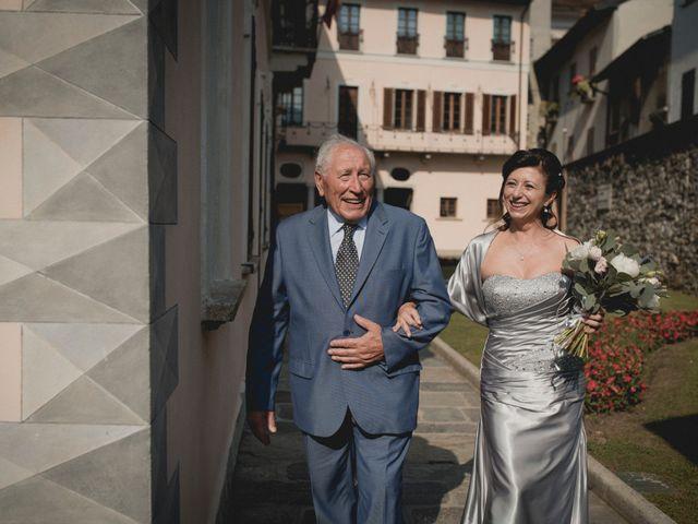 Il matrimonio di Vittorio e Donatella a Orta San Giulio, Novara 4