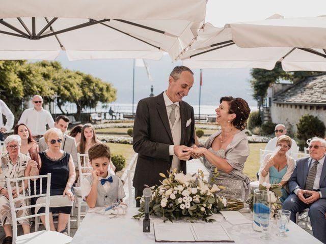 Il matrimonio di Vittorio e Donatella a Orta San Giulio, Novara 7