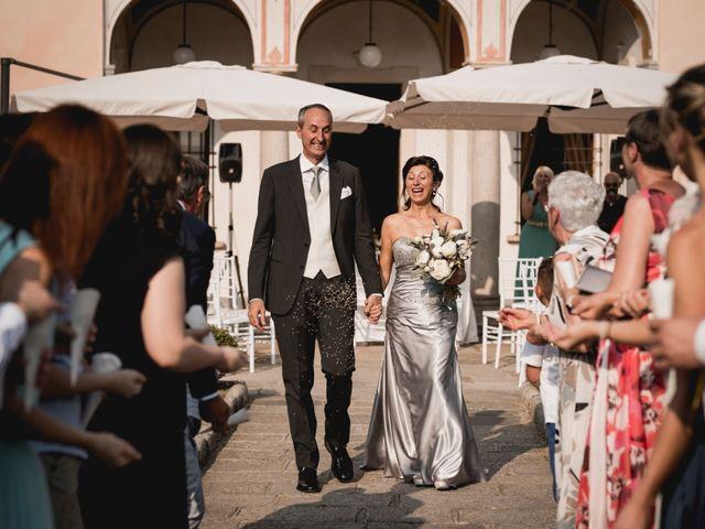 Il matrimonio di Vittorio e Donatella a Orta San Giulio, Novara 20