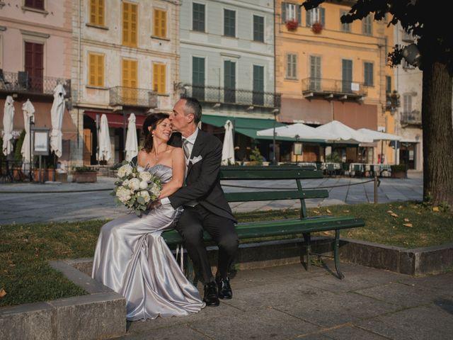 Il matrimonio di Vittorio e Donatella a Orta San Giulio, Novara 21