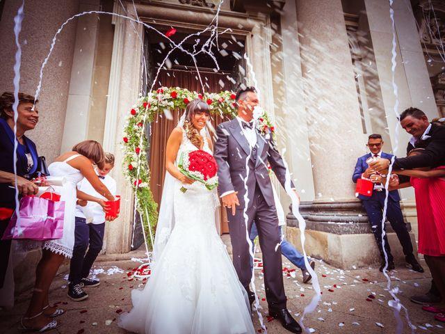 Il matrimonio di Elena e Nicola a Busto Arsizio, Varese 39