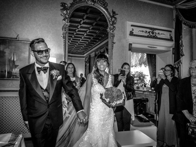 Il matrimonio di Elena e Nicola a Busto Arsizio, Varese 60