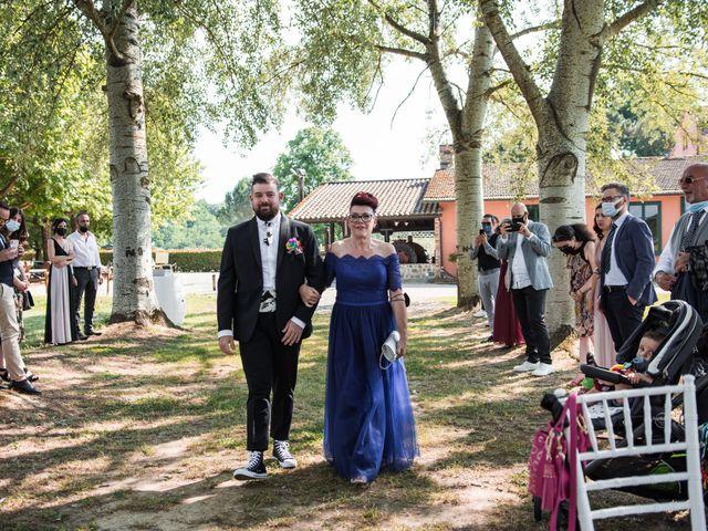 Il matrimonio di Alessandro e Sandra a Ponte Buggianese, Pistoia 20