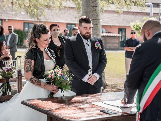 Il matrimonio di Alessandro e Sandra a Ponte Buggianese, Pistoia 22