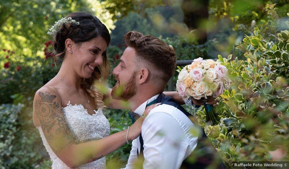 Il matrimonio di Marco e Jessica a Ternate, Varese