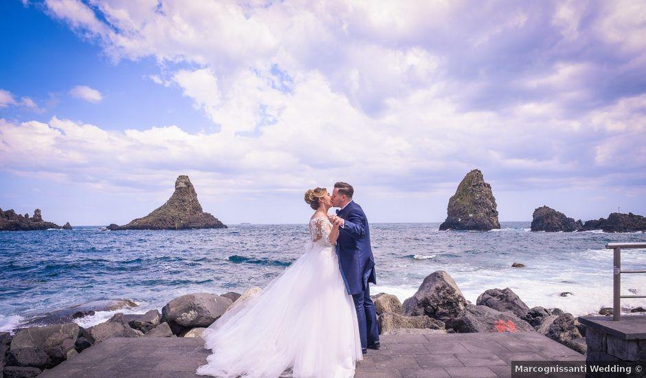 Il matrimonio di Lucia e Gianluca a Zafferana Etnea, Catania