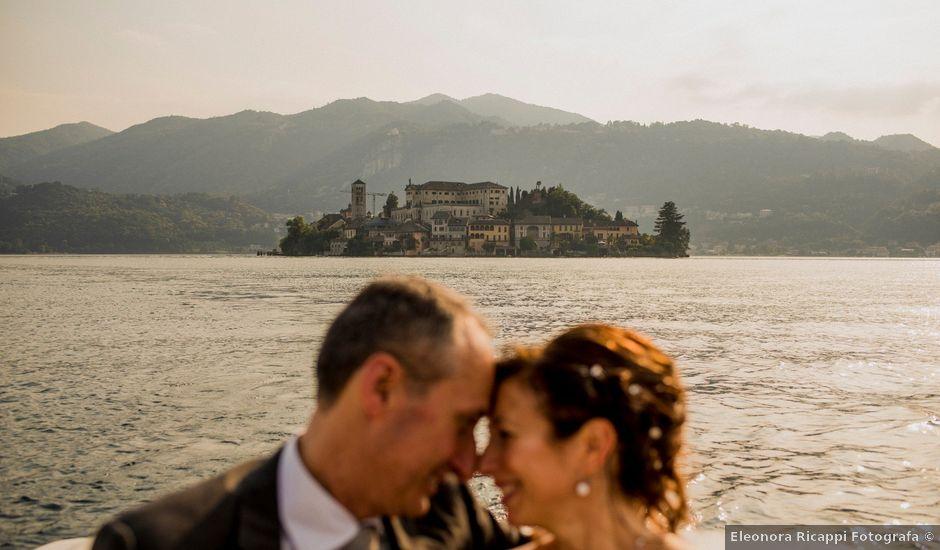 Il matrimonio di Vittorio e Donatella a Orta San Giulio, Novara
