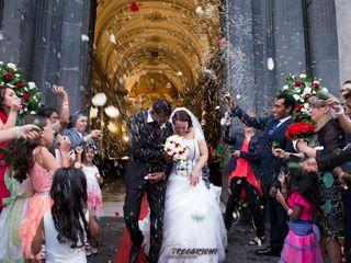 Le nozze di Wijelanka  e Bernadette