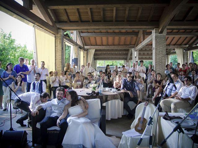 Il matrimonio di Michele e Elisabetta a Busseto, Parma 73