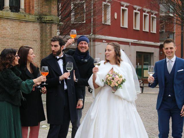 Il matrimonio di Dario e Lorenza a Venezia, Venezia 1