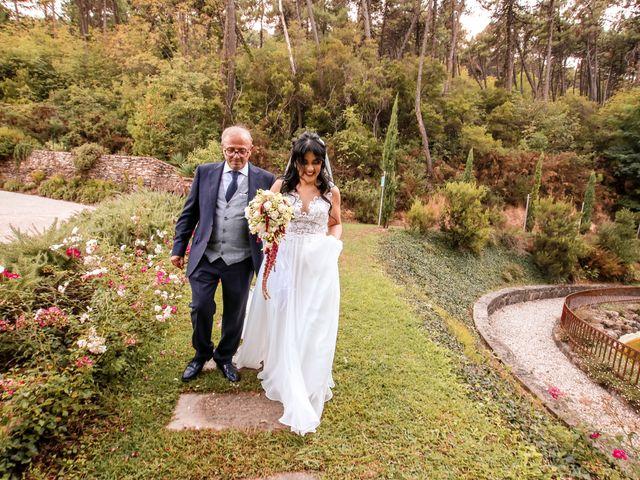 Il matrimonio di Alessandro e Linda a Buti, Pisa 14