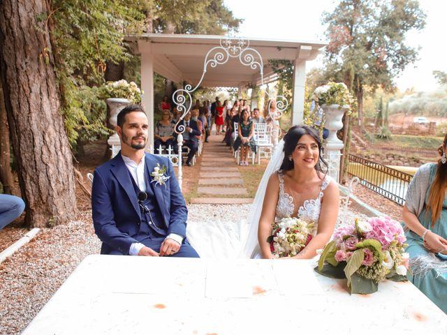 Il matrimonio di Alessandro e Linda a Buti, Pisa 19