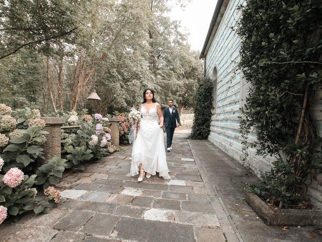 Il matrimonio di Alessandro e Linda a Buti, Pisa 37