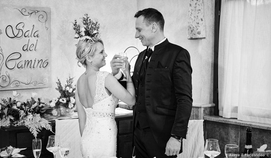 Il matrimonio di Victor e Marina a Ardea, Roma