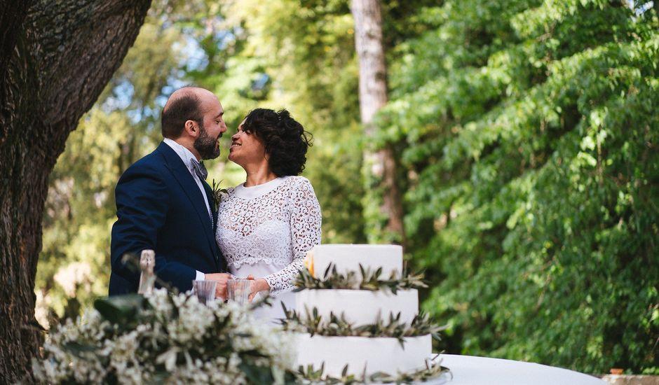 Il matrimonio di Massimiliano  e Débora  a San Casciano in Val di Pesa, Firenze