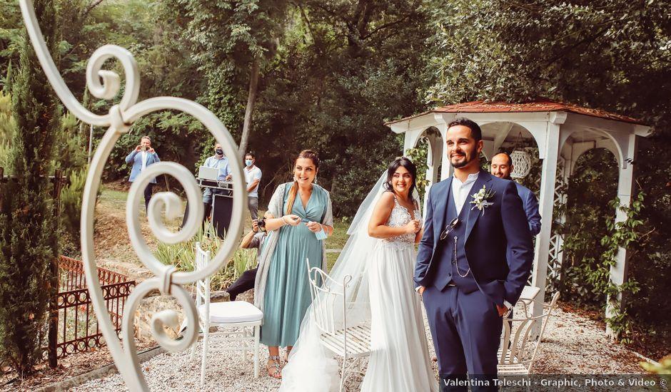 Il matrimonio di Alessandro e Linda a Buti, Pisa
