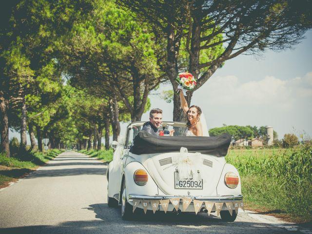le nozze di Ilaria e Alex