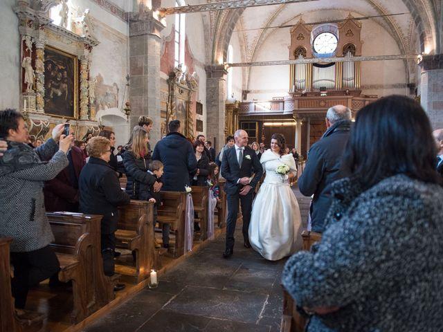 Il matrimonio di Matteo e Alessia a Borgo Chiese, Trento 18