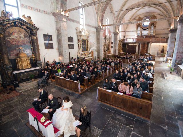 Il matrimonio di Matteo e Alessia a Borgo Chiese, Trento 20