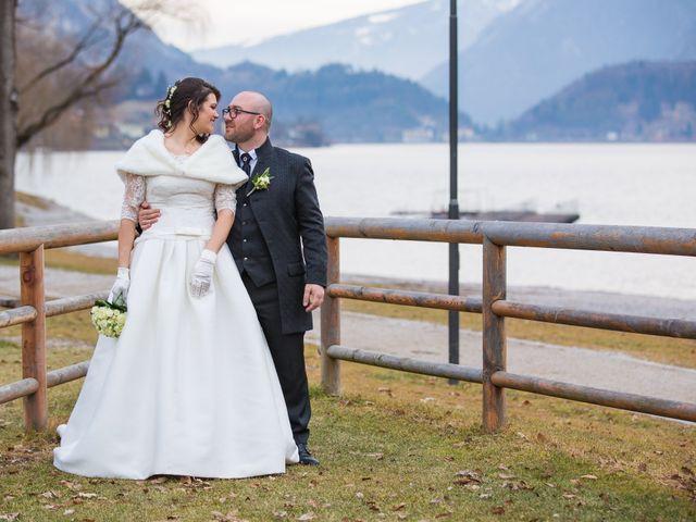 Il matrimonio di Matteo e Alessia a Borgo Chiese, Trento 32