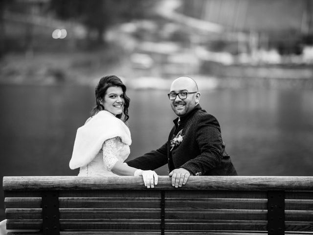 Il matrimonio di Matteo e Alessia a Borgo Chiese, Trento 33