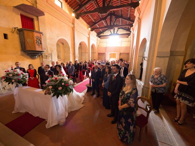 Il matrimonio di Emanuele e Antonella a Monte Argentario, Grosseto 23