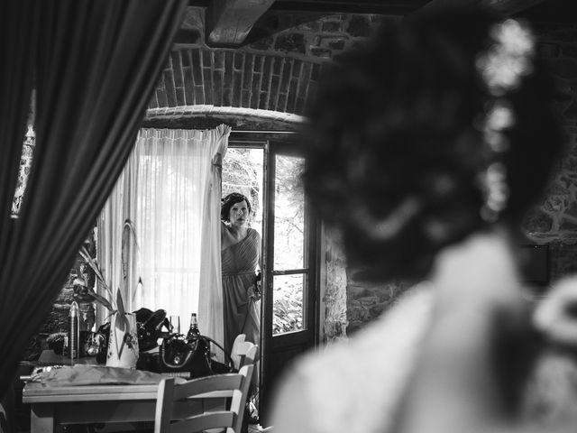 Il matrimonio di Jani e Tina a Bibbiena, Arezzo 18