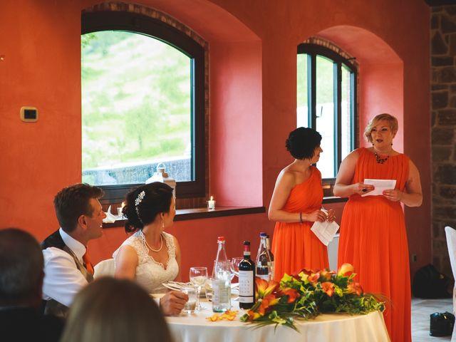 Il matrimonio di Jani e Tina a Bibbiena, Arezzo 49