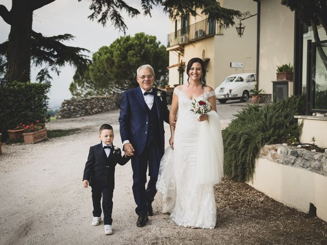Il matrimonio di Federico e Francesca a Frascati, Roma 80