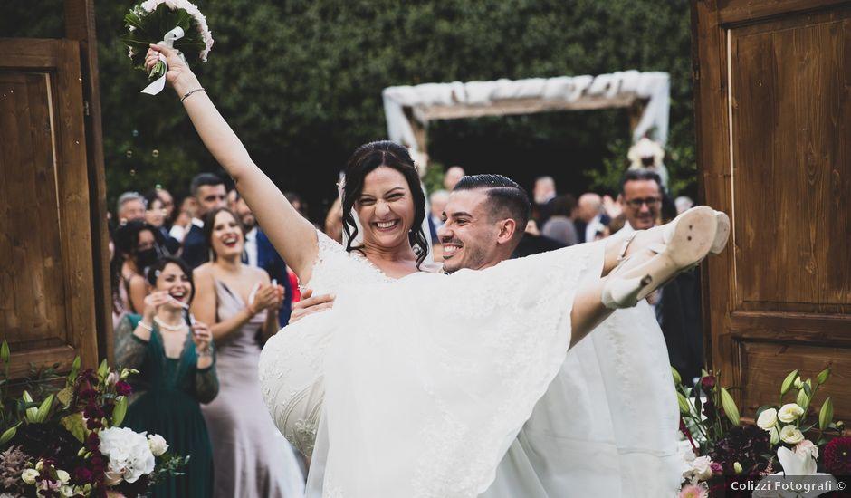 Il matrimonio di Federico e Francesca a Frascati, Roma