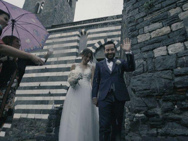 Il matrimonio di Gaspare e Chiara a Portovenere, La Spezia 27