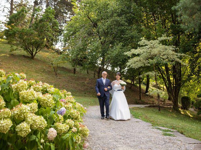 Il matrimonio di Simone e Serena a Monasterolo del Castello, Bergamo 15
