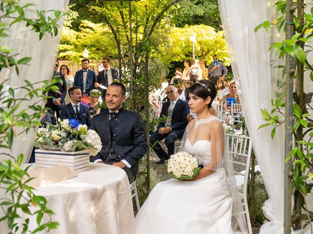 Il matrimonio di Simone e Serena a Monasterolo del Castello, Bergamo 18